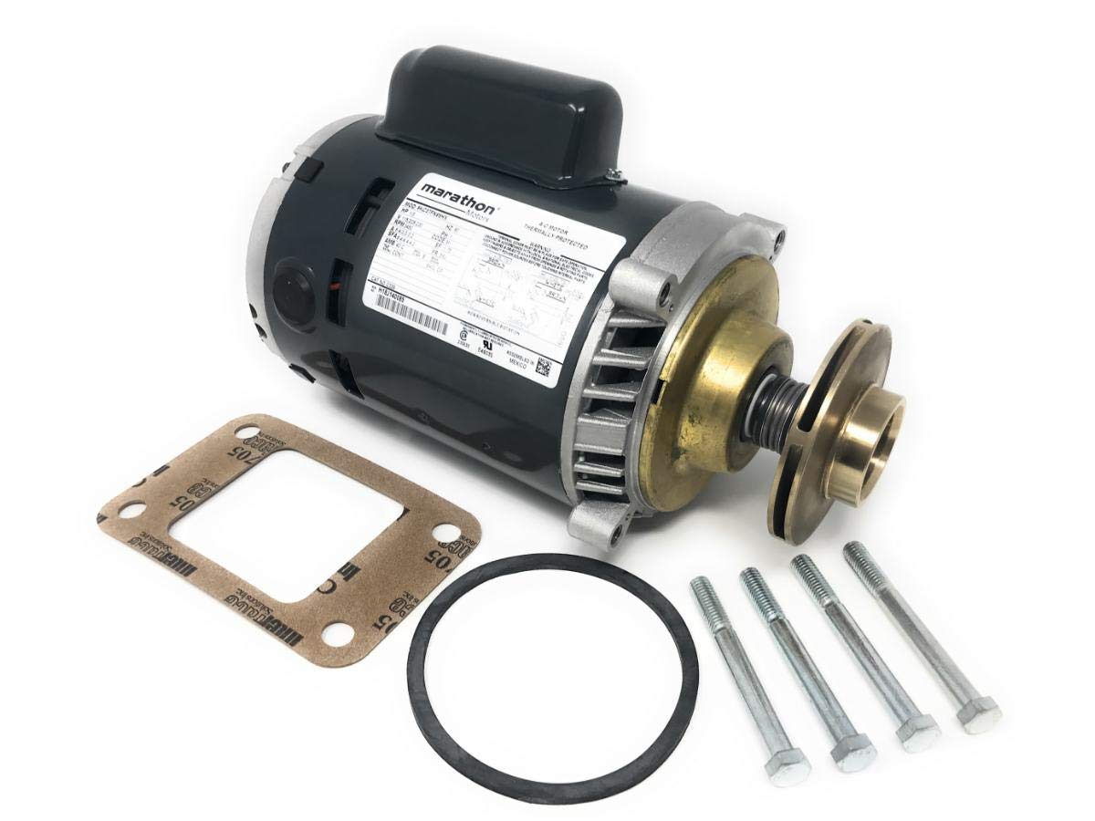 EN180004 Replacement Pump & Motor Assembly Less Volute for Hoffman 180004 Fits Watchman A, B, WC, WCD Condensate Pumps