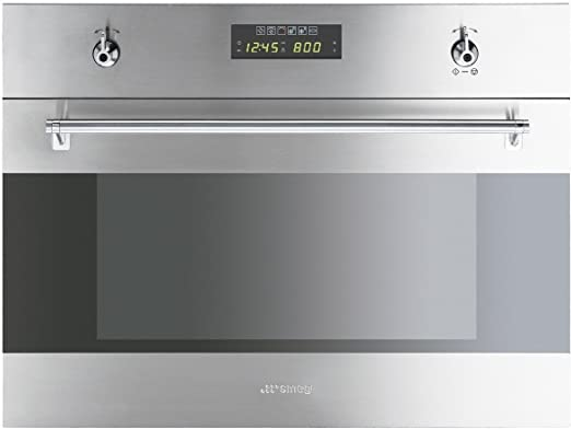 Smeg - Horno + Microondas Indep. S45Mx2, 34L, Multifuncion ...