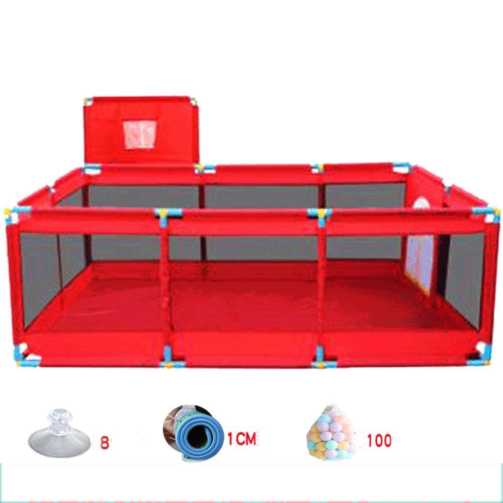 HUO 赤ちゃん遊びフェンス屋内赤ちゃん幼児フェンスホームボールプールおもちゃ小児耐衝撃フェンス8モデル (サイズ さいず : B4) B4  B07KWZFC84