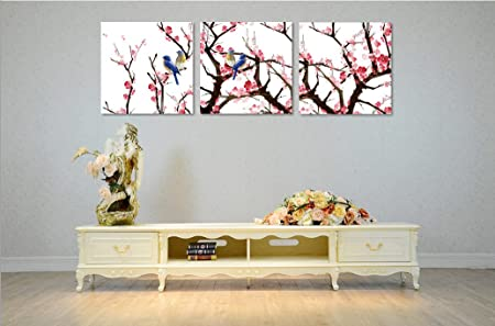 Amazon.com: hafeez Center Decor Art – 3 paneles moderna ...