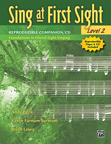 Sing at First Sight Reproducible Companion, Bk 2: Foundations in Choral Sight-Singing, Comb Bound Book & CD