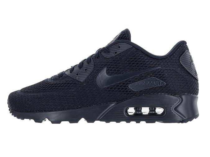 buy online 0fe3e bef53 Amazon.com   Mens Nike Air Max 90 Ultra Breathe Navy   Fashion Sneakers