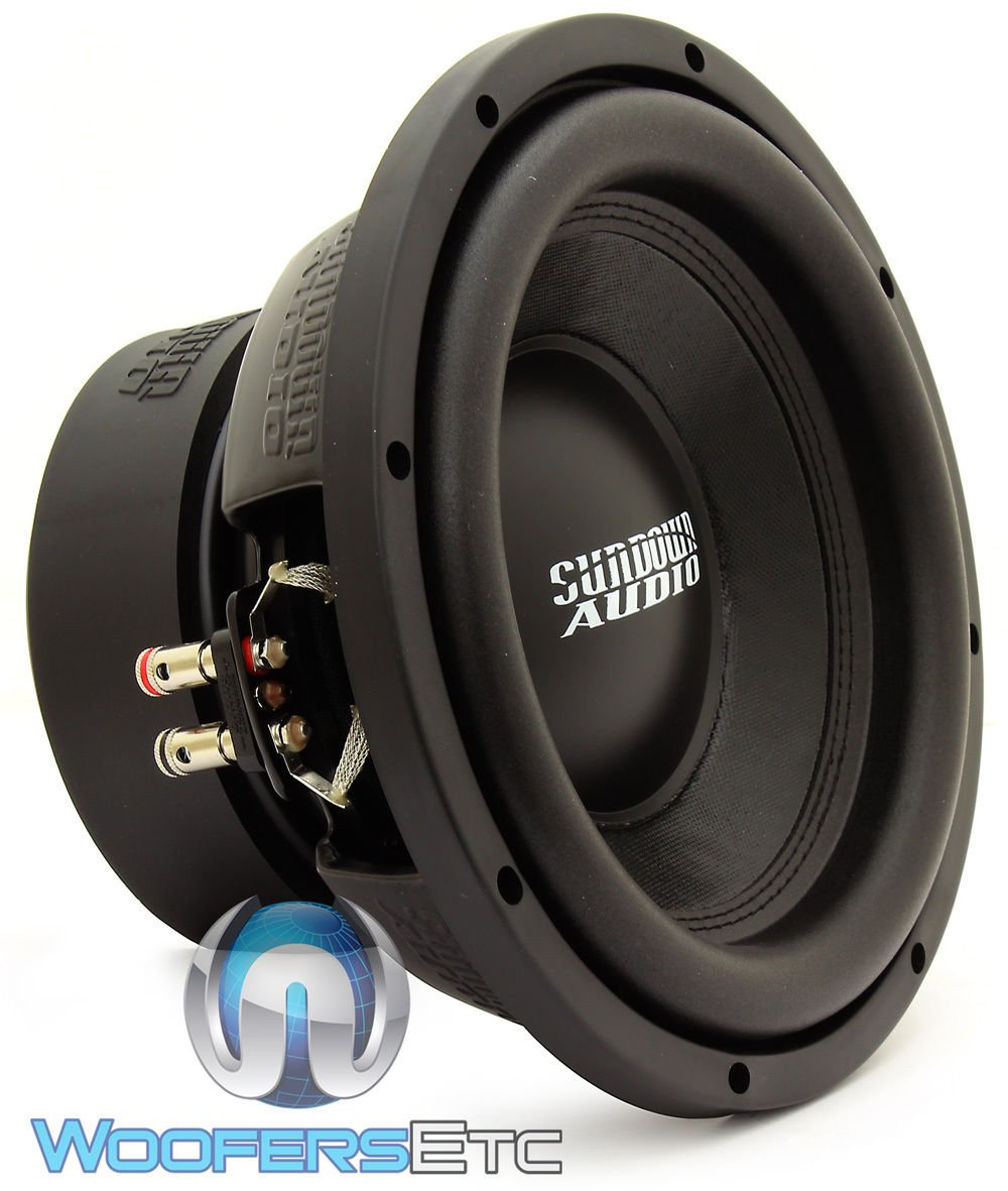 E-10 V.3 D2 - Sundown Audio 10'' 500W RMS Dual 2-Ohm EV.3 Series Subwoofer by Sundown Audio