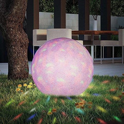 boule lumineuse del rvb luminaire ext rieur jardin. Black Bedroom Furniture Sets. Home Design Ideas