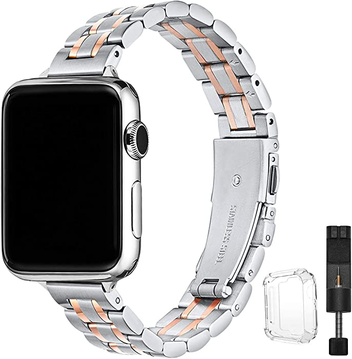 Top 10 Apple Watch Silicone Band With Rose Gold Pin