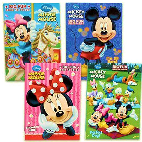 Disneys Mickey Mouse & Minnie Mouse Plus Friends Activity And Coloring Book (Set Of 4) by Bendon Publishing