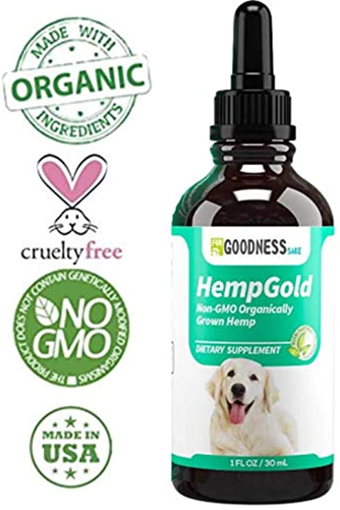 Amazon com : Organic Hemp Oil for Dogs (250 mg) Full