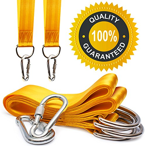 secure-tree-swing-handing-kit-set-of-2-10ft-extra-long-yellow-straps-with-2-bonus-safe-carabiners-du