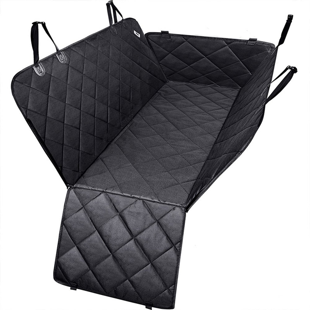 Pet Car Seat Covers for Big Dogs Car Interior Travel Accessories Dog Carriers Dog Mat Heavy Duty Waterproof Scratch Proof Nonslip Soft Pet Back Seat Covers for Cars and SUV
