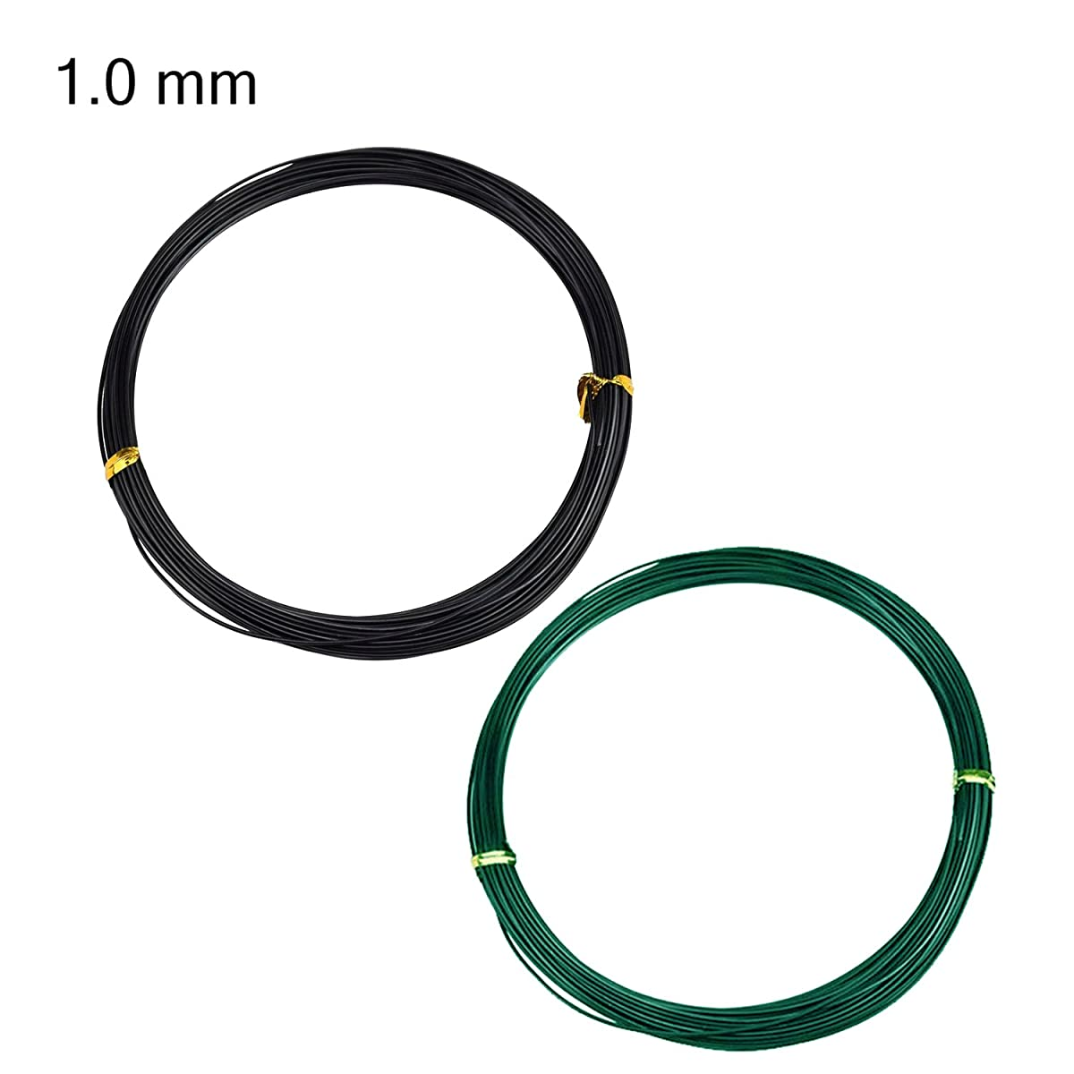 Bonsai Training Wire Set of 4 - Total 128 Feet(32 Feet Each Size) 3 Size - 1.0MM,1.5MM,2.0MM - Corrosion and Rust Resistant by ZELARMAN