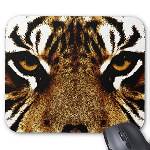 Zazzle Eyes Of a Tiger Mouse Pad