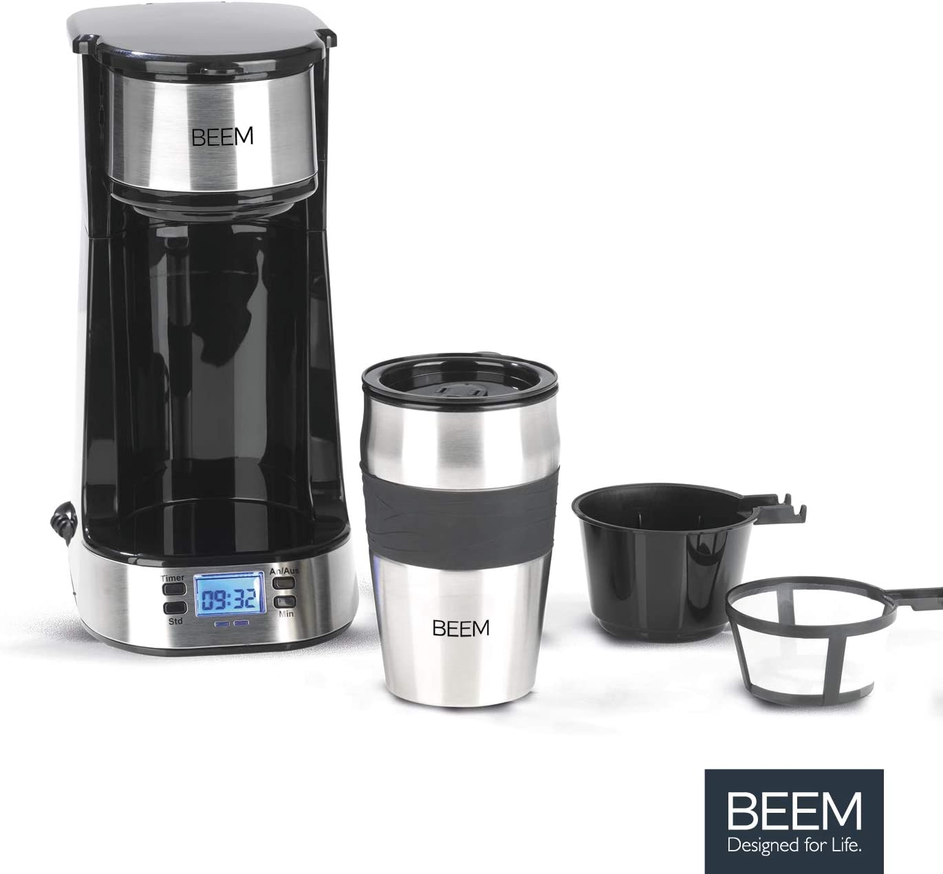 Kleine Kaffeemaschine - BEEM THERMO 2 GO Single-Filterkaffeemaschine