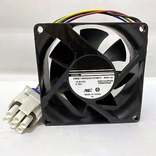 Refrigerator Evaporator Fan Motor WR60X26866 V80E14MS2A3-57A611 WR60X26033