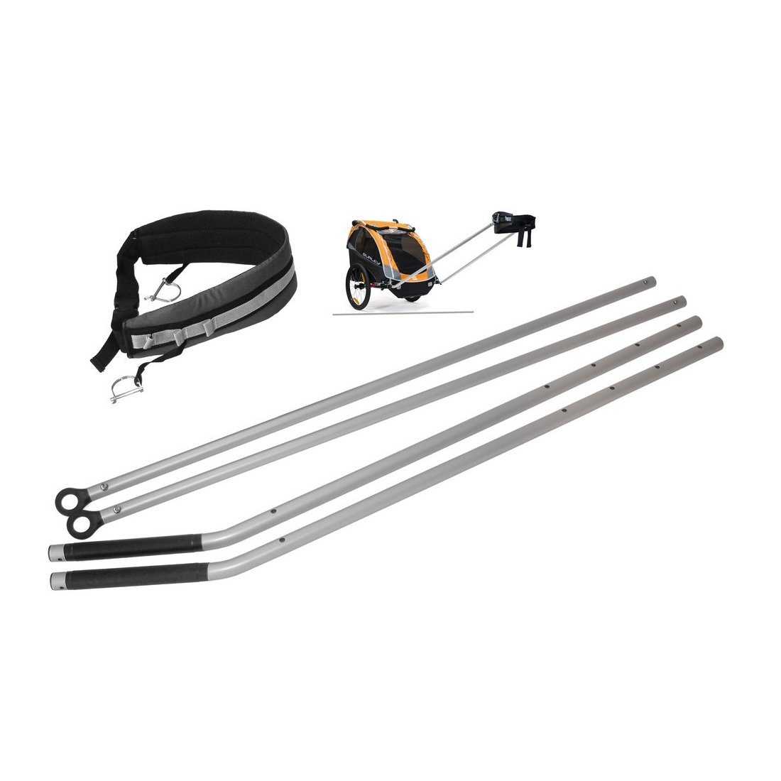 Burley 960199 Walking and Hiking Kit passend für Solo,D´Light,Encore und Cub (1 Set)