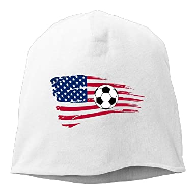 8163f06164e56a Image Unavailable. Image not available for. Color: wuhandeshanbaosheng  Soccer USA Flag Sport Unisex Knit Hat ...