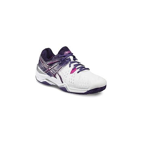 ASICS Gel Resolution 6 Clay, Zapatillas de Tenis para Mujer