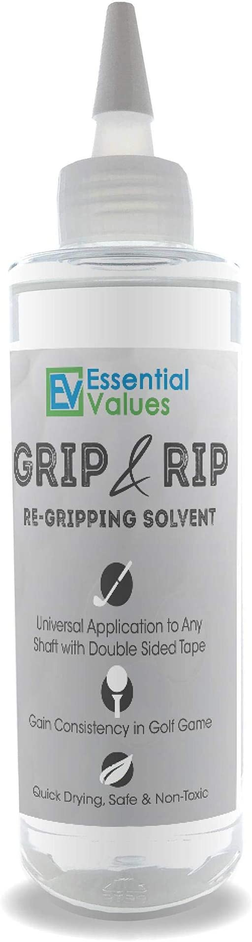 Essential Values Golf Regripping Solvent (8 Fl Oz)