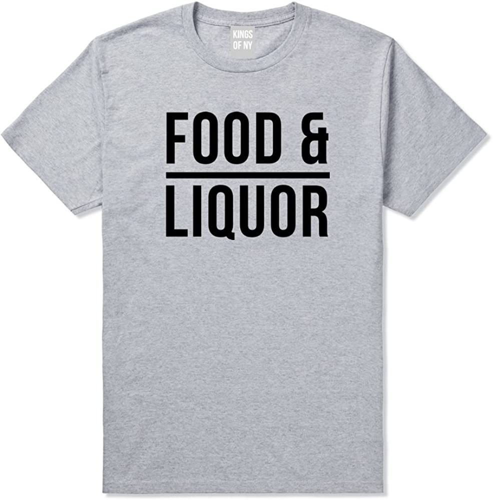 Kings Of NY Food and Liquor Fun Fiasco Party Hiphop Lupe T-Shirt