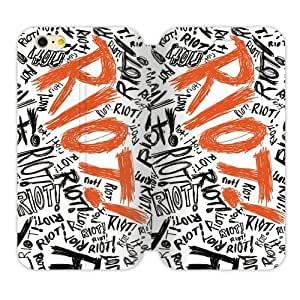 """Paramore Riot Personalized Custom Flip Cover Case For iPhone6 4.7"""""""