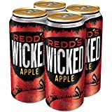 Redd's Wicked Apple Ale Beer Cans, 8.0% Abv, 16 Fl