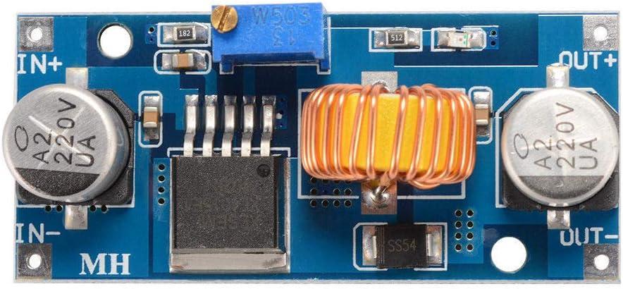 JVJ 5A XL4015 R/égulateur de tension Step down de 4-38 V vers 1,2-24 V Arduino convertisseur