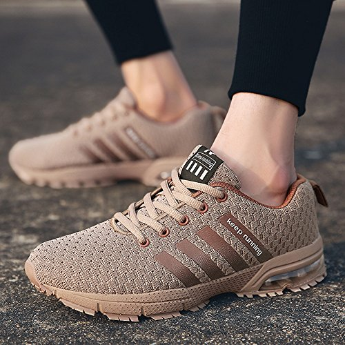 Bleu Gym Chaussures Marron Blanc 47 Lace Course Slim modle Fitness Choisie 36 Femme Up Noir De 1 Sports Marche uk Taille Pamray 12 Uk Sneakers 4 Trainers Marron Air Rouge Rqgd886n