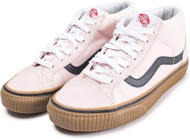 Chaussures en daim Power Pack Mid Skool 37 | Rose | Vans
