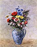 Art Oyster Odilon Redon Flowers in a Vase with one Handle - 18.1'' x 24.1'' Premium Archival Print