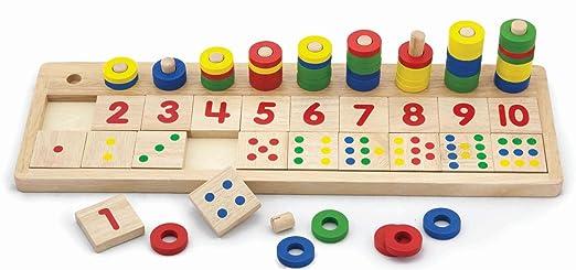 2 opinioni per Viga- Gioco in legno per imparare a contare