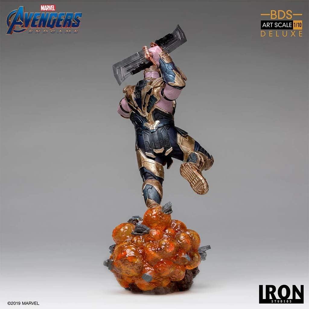 1:10 Iron Studios The Avengers End Game Iron Man MK85 Statue Standard Figure Toy