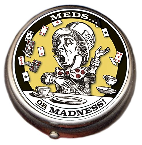 Mad Hatter Pill Box Compartment product image