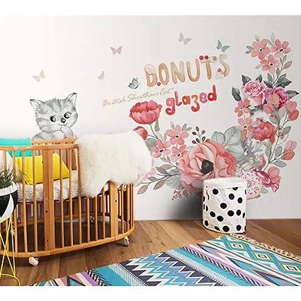 Mddjj 3D Animal Foto De Dibujos Animados Personalizado Estilo Encantador Mural Wallpaper Para El Dormitorio Sala