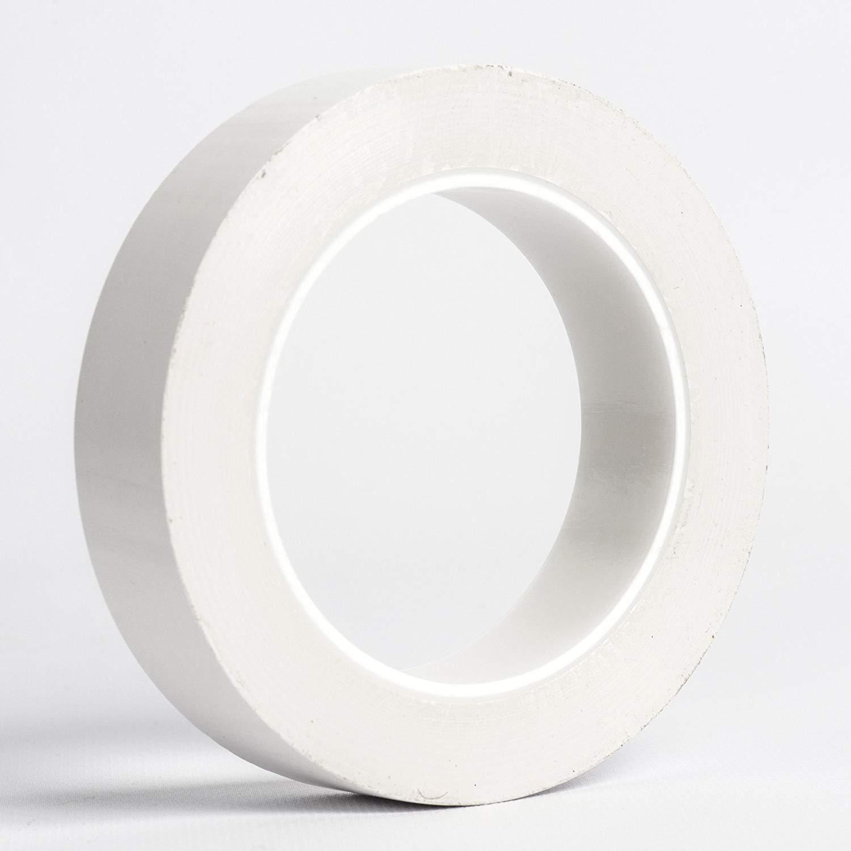 UltraTape Polyethylene Super-Tack Cleanroom Tape | 1 Inch | White |1 Roll