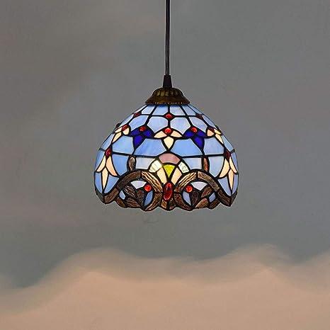 GXCX Tiffany - Lámpara de Techo de Estilo Barroco Creativo ...