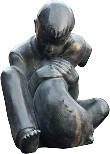 Boy and Dog Statue Based on Sylvia Shaw Judson Sculpture