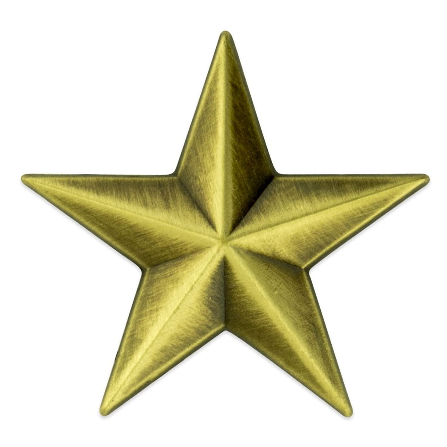 Amazon PinMarts Military 3D 5 Point Bronze Star Lapel Pin Jewelry