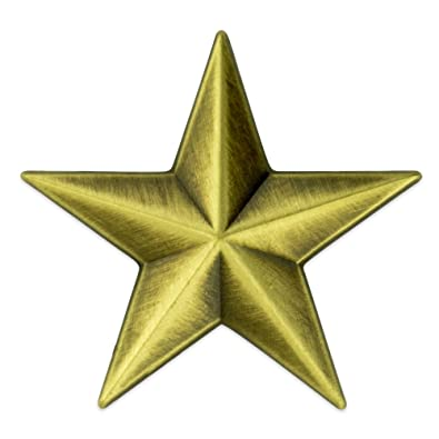 a6822fc5a0f Amazon.com: PinMart Military 3D 5 Point Bronze Star Lapel Pin: Jewelry