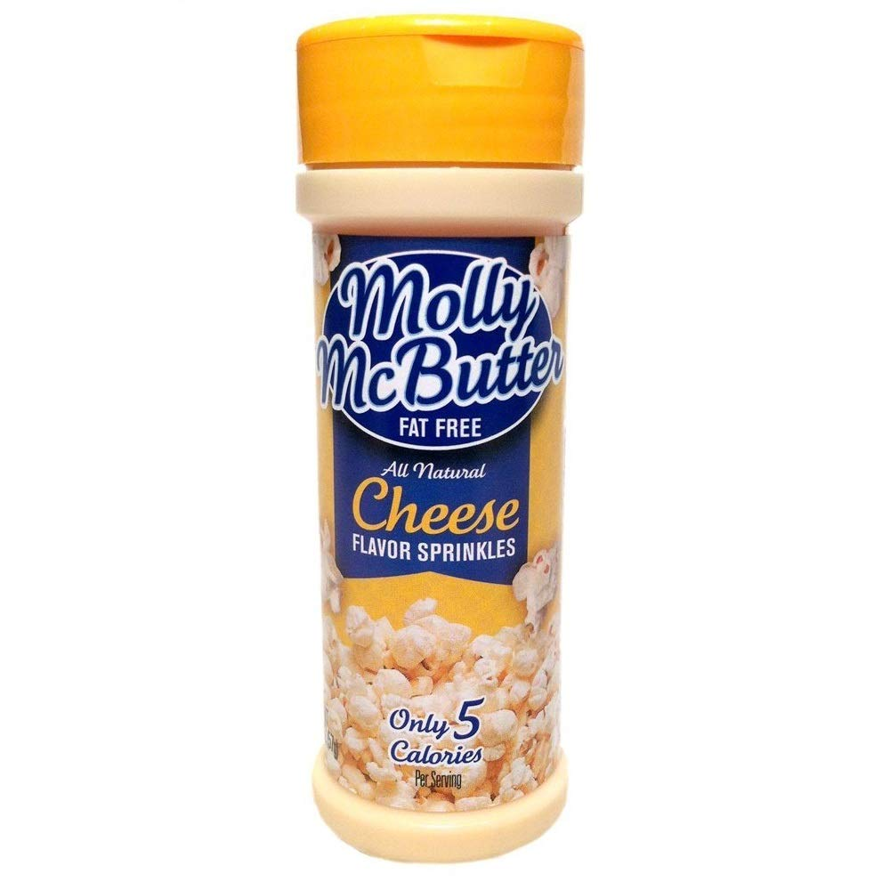 Molly McButter Fat Free CHEESE FLAVOR SPRINKLES 2oz (2 Pack)