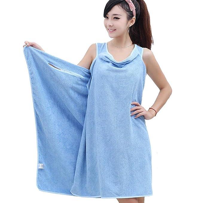 35fc501619 Techsun Women s Microfiber Wearable Bath Wrap