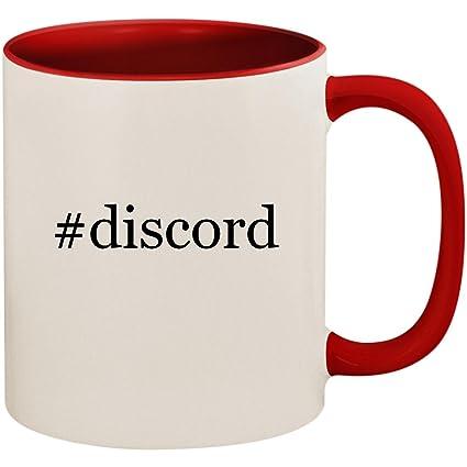 Amazon com   #discord - 11oz Ceramic Colored Inside and