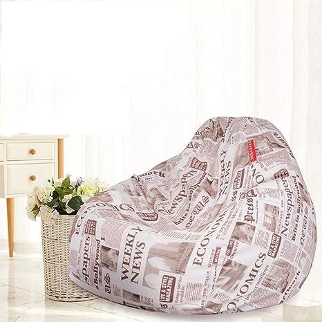 Amazon.com: ZXUE Lazy - Puf de sofá para dormitorio, salón ...