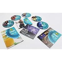 Zumba Fitness Tone Up 5 Systeem DVD + 2 programma-schriften, alles in het Engels zonder Toning Sticks