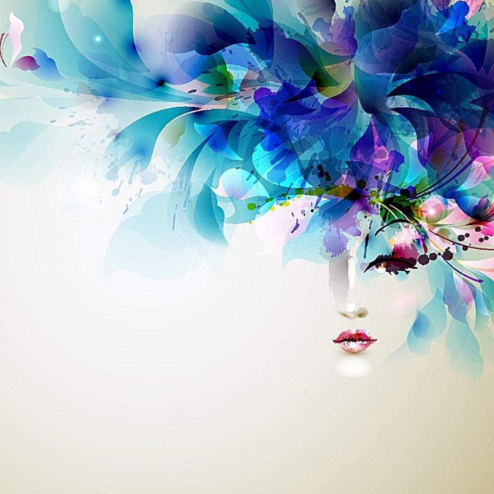 Pintura de diamantes 5D DIY pintura de arte prensa para adultos kit de pintura digital manualidades adecuado para la decoración de la pared del hogar belleza 25X25 cm