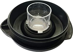 Bobblei Round Full Blender Jar Lid & Center Filler Cap Replacement For Oster BLSTAL-B00-050 Fit 6 cup Jars