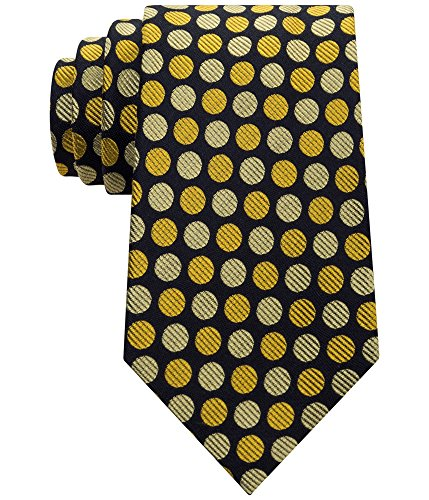 Sean John Men's Two Color Dot Tie, Yellow, One Size