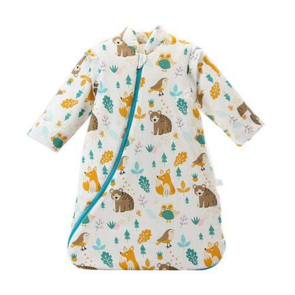 szseven Baby Sleeping Bag Winter Thickened Long Sleeve Children Sleeping Bags Kids Animal Pattern Warm Boys and Girls Sleeping Bag for Birth to 6 Years Old