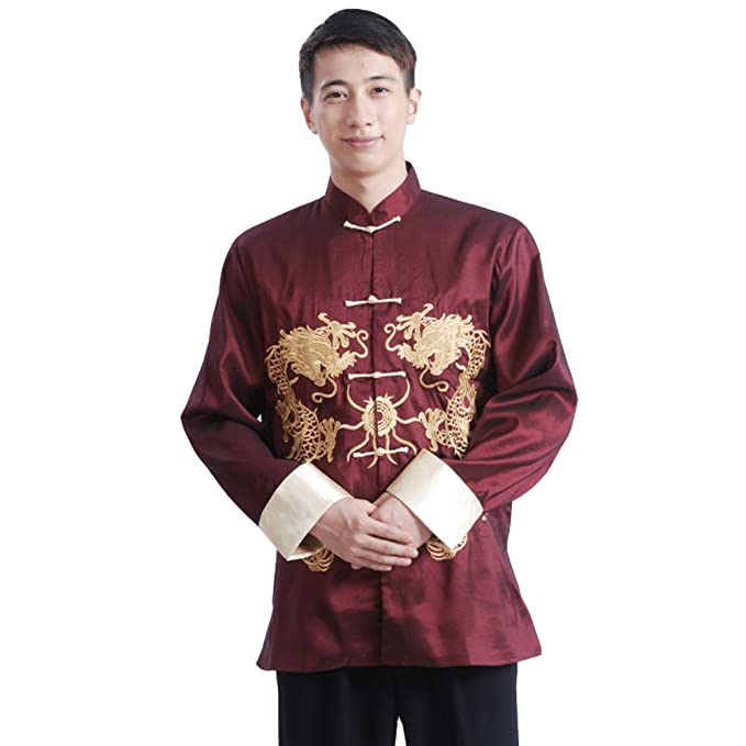 Amazon.com: excellanyard – chino Tang traje Dragón Kung Fu ...
