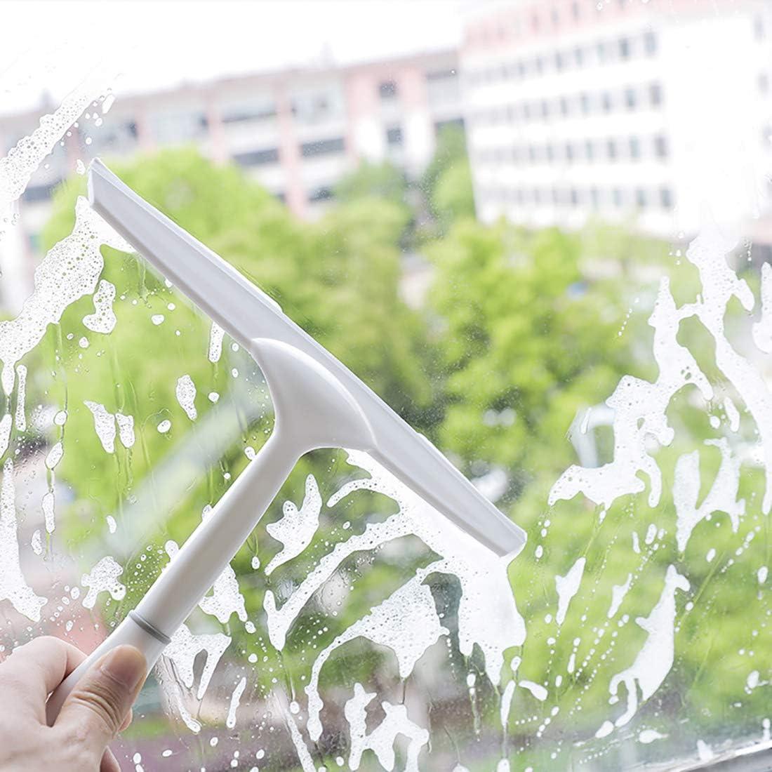 YUPPIE TONE Duschwischer Kunststoff,Extra Leichter Duschabzieher Ohne Bohren-f/ür Bad,Boden,Glas,Spiegelreinigung
