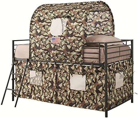 Tent Loft Army Green Camouflage