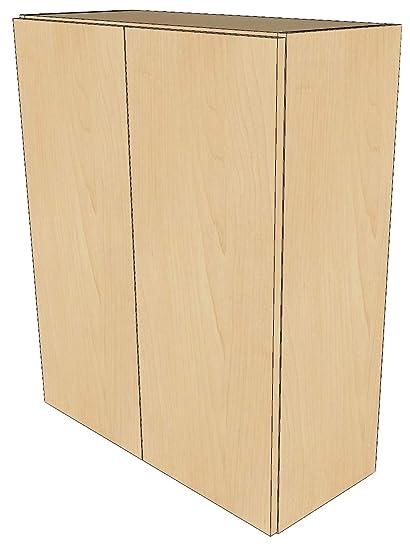 Amazon Com Kitchen Storage Wall Cabinets Pre Finished